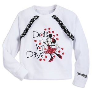 Disneyland Minnie Mouse Pullover
